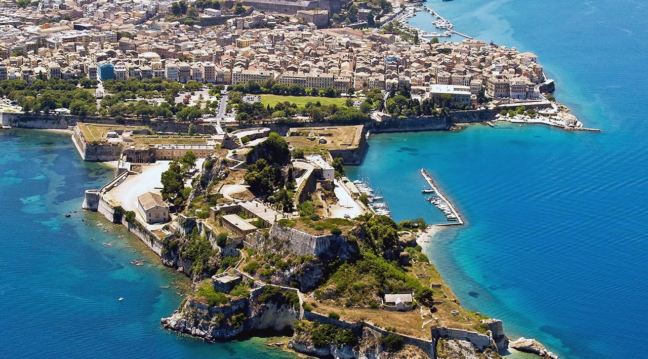 Corfu Adası