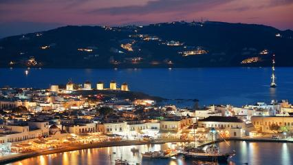 Bodrum'dan Mykonos'a 14 Gece