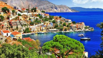 Marmaris'ten Simi ve Rodos Adasına