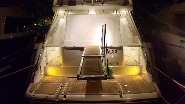 Motor yat Alex