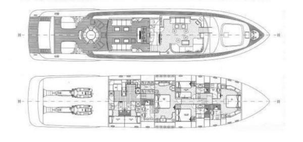 Motor yat Mina II